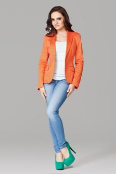 Damen Blazer M108 orange