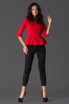 Damen Blazer M132 red