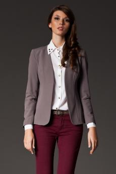 Damen Blazer M141 grey