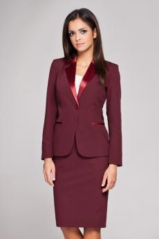 Damen Blazer M154 wine